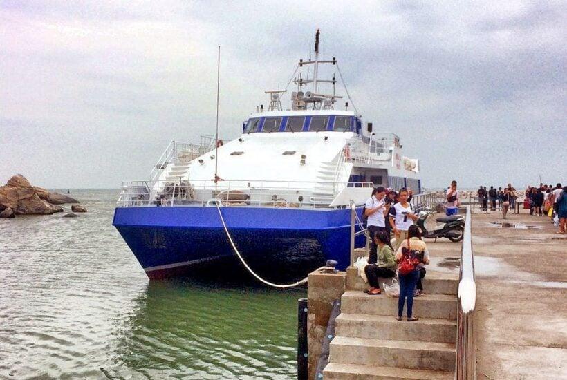 Pattaya – Hua Hin ferry service back again for high season | The Thaiger