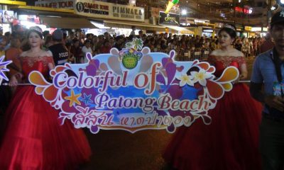 Phuket Carnival 2018 kicks off in a blaze of colour | The Thaiger