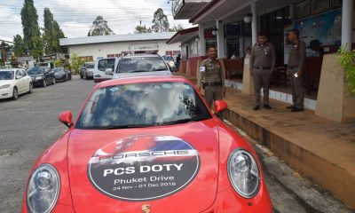 Singapore businessman's Porsche hits Krabi Police officer | The Thaiger