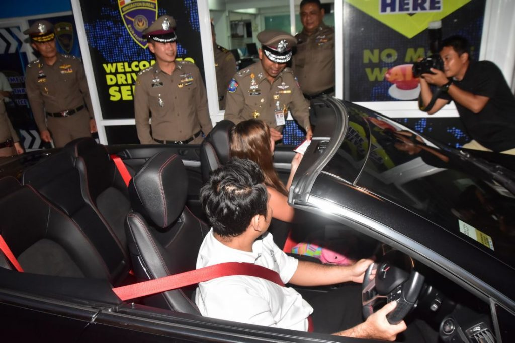 Drive Thru Immigration service officially launched | News by The Thaiger