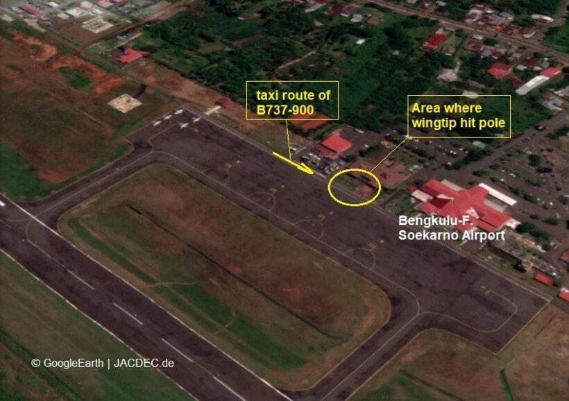 Lion Air plane damaged in minor ground collision - Jakarta | News by The Thaiger