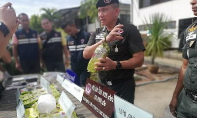 Two arrested with 10 kilograms of crystal meth in Krabi | The Thaiger