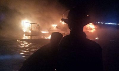 Australian yacht owner escapes fire off Patong | The Thaiger