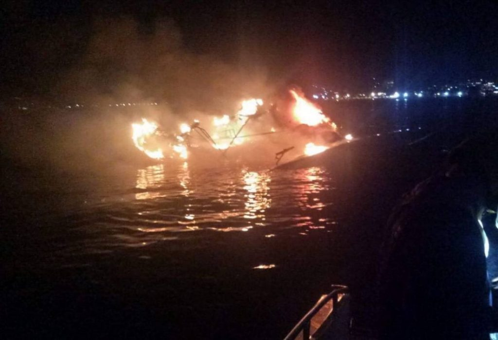 Australian yacht owner escapes fire off Patong | News by Thaiger