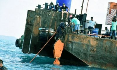 More 'wind and waves' – Phoenix still at the bottom of the Andaman Sea | The Thaiger