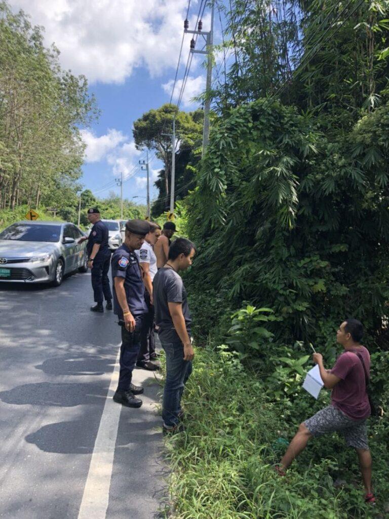 Drunken Aussie tourist admits he wasn't robbed at gun point in Phuket | News by Thaiger