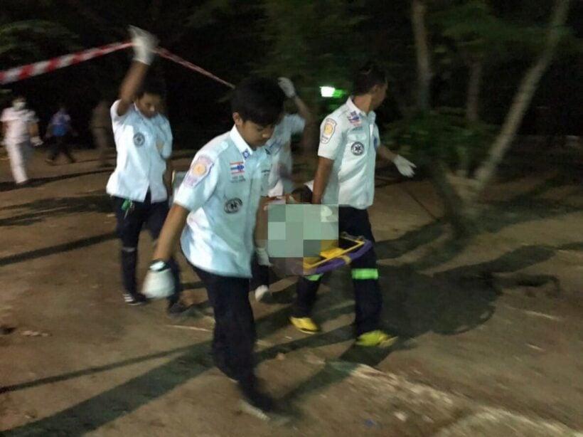 พบศพหนุ่มนิรนามผูกคอตายใต้ต้นไม้ ริมคลองบางใหญ่สวนสาธารณสะพานหิน | The Thaiger
