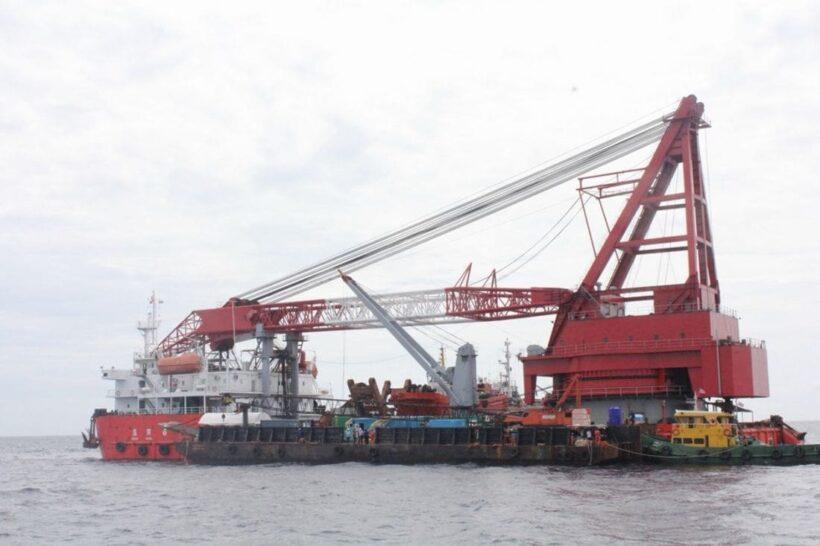 ปฏิบัติการกู้เรือฟินิกส์ เร่งสร้างความเชื่อมั่นการท่องเที่ยว คาด ภายใน 5 วัน   The Thaiger