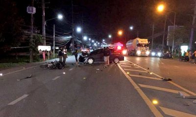 UPDATE: Two foreigners die in high speed road accident in Phuket | The Thaiger