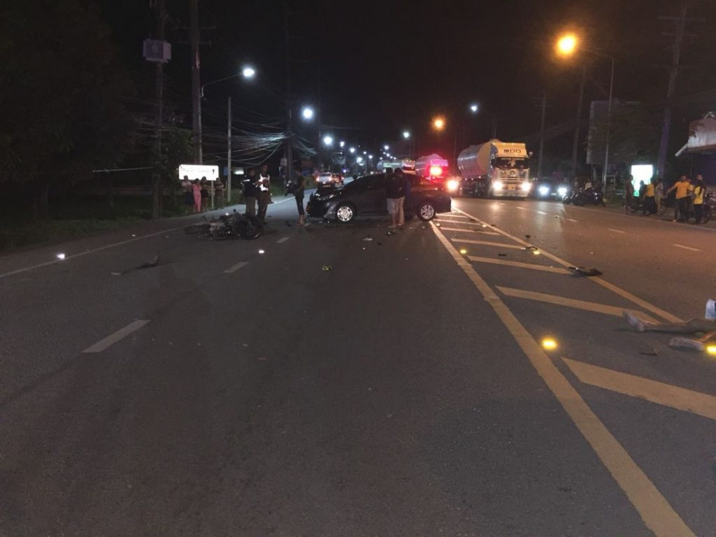 UPDATE: Two foreigners die in high speed road accident in Phuket | News by The Thaiger