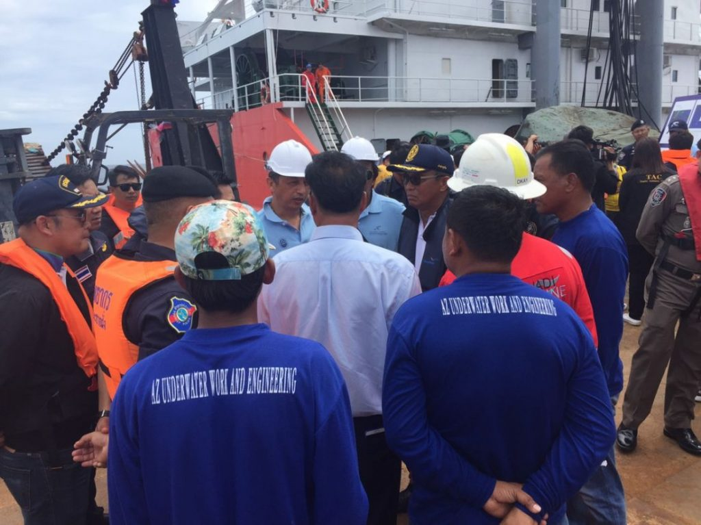 Salvage operations now fully underway - Surachate Hakparn | News by Thaiger