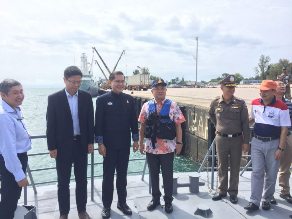 Phoenix under high security at Rassada Pier | News by The Thaiger