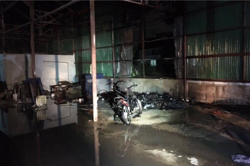 Fire started in Rassada warehouse | News by Thaiger