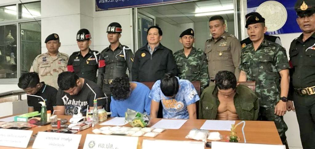12 drug suspects arrested with crystal meth and pills   News by Thaiger
