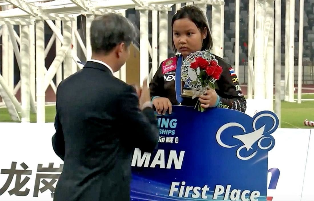 Thai 11 year old wins women's world drone racing championships | The Thaiger