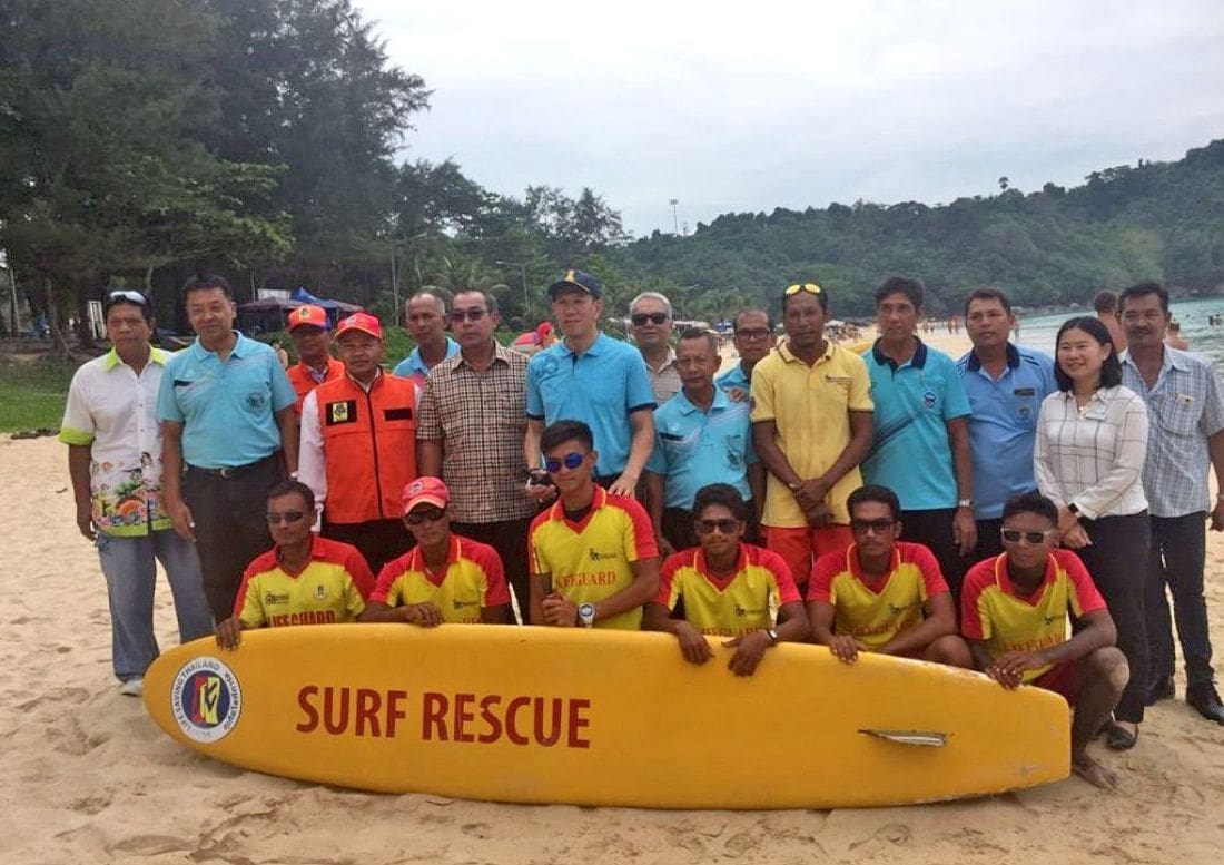Rawai Mayor confirms lifeguards patrolling Nai Harn Beach everyday | The Thaiger
