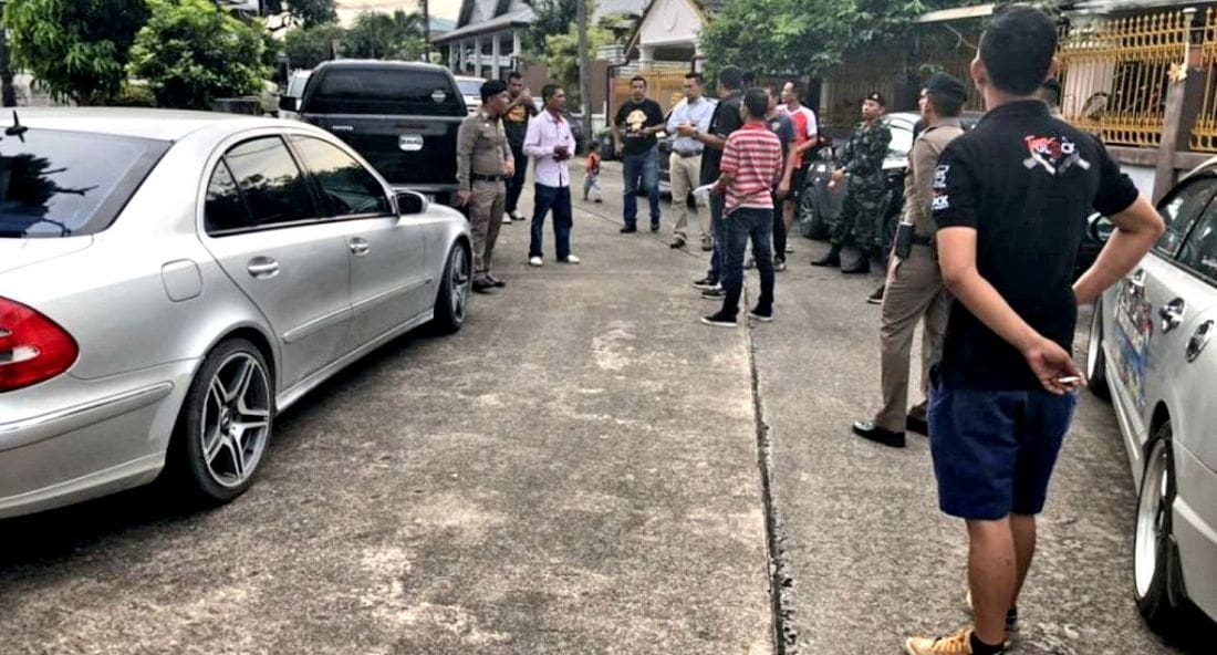 Second-hand car shop raided, owner arrested in Chalong | The Thaiger