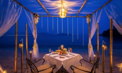Phuket's most romantic dinner at Thavorn Beach Village Resort & Spa | The Thaiger