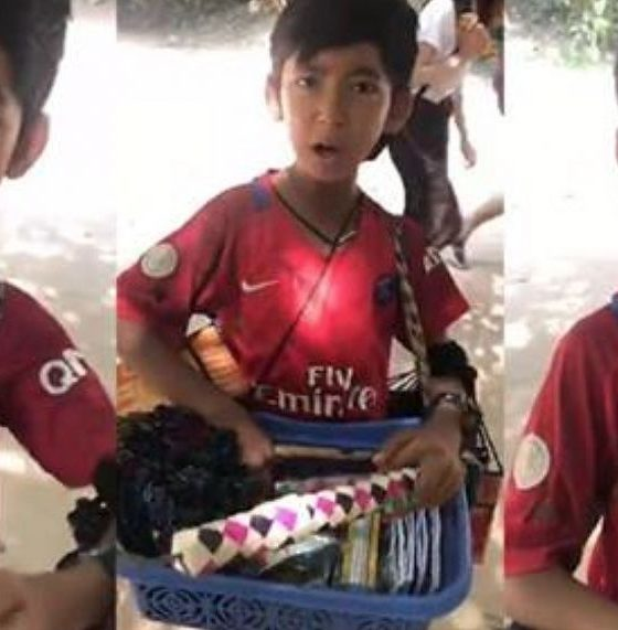 Enterprising young Cambodian impresses with multi-lingual skills | The Thaiger