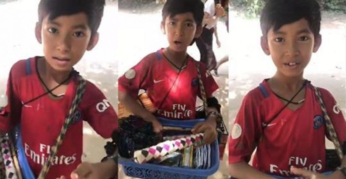 Enterprising young Cambodian impresses with multi-lingual skills   The Thaiger