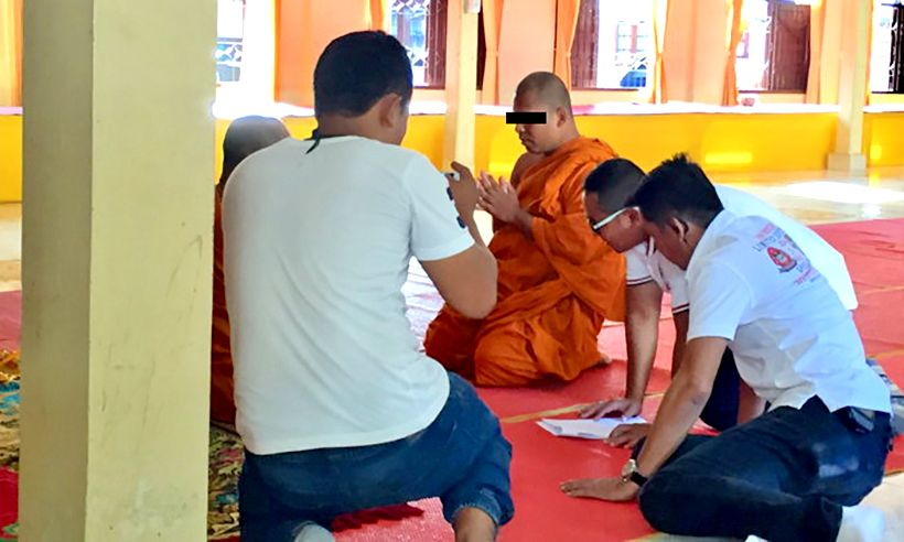 Surat Thani monk arrested over molestation allegations | The Thaiger