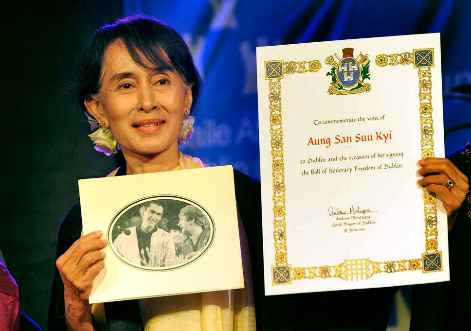 Aung San Suu Kyi stripped of prestigious peace award | The Thaiger