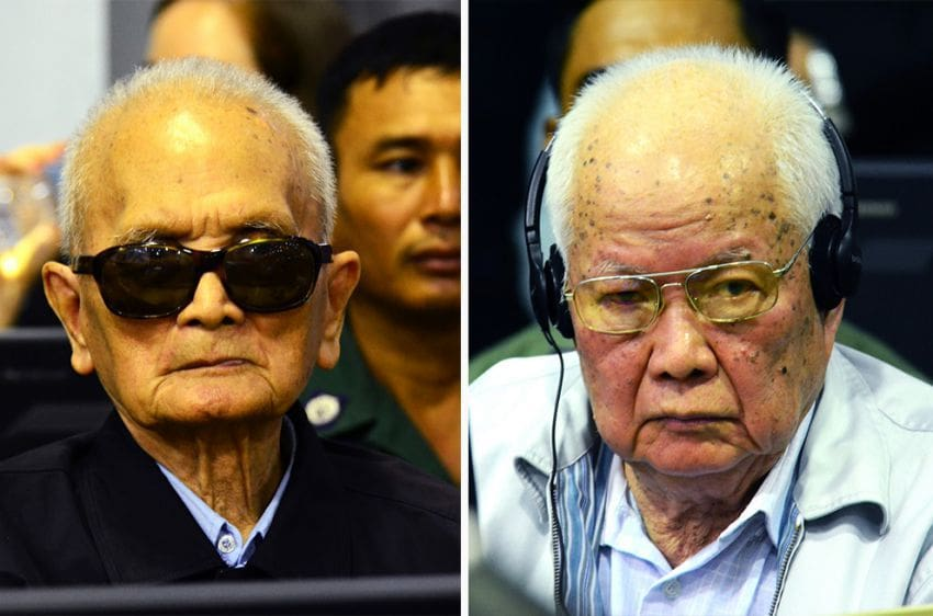 Two Khmer Rouge leaders sentenced to life in prison   The Thaiger