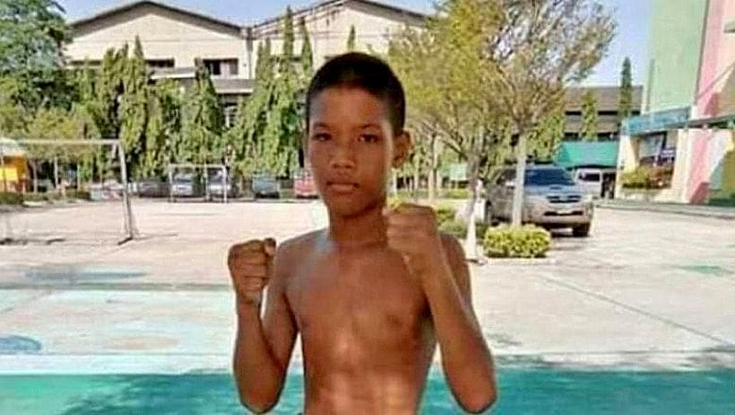 13 year old muay thai boxer's mother mourns the loss of her son | The Thaiger