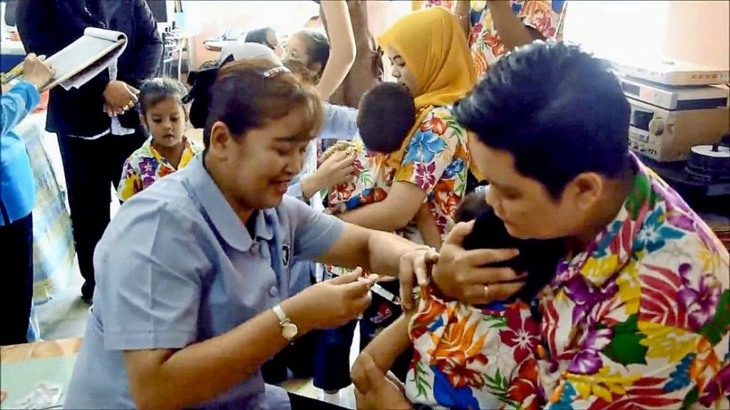 Narathiwat officials swing into action to combat deadly measles outbreak | News by The Thaiger