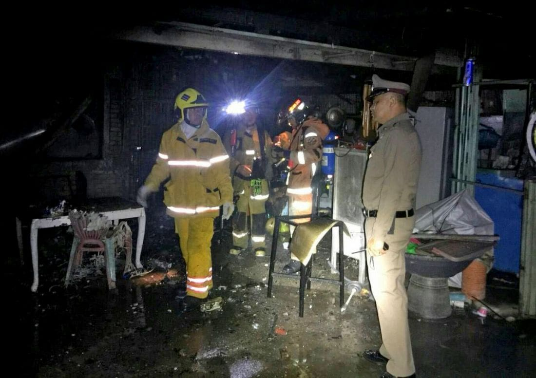 Three killed in a Chiang Mai house fire   The Thaiger