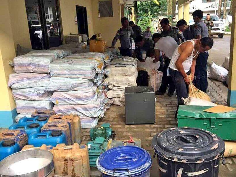 Five armed men guarding a Myanmar drug caravan shot dead by troops in Chiang Rai | The Thaiger