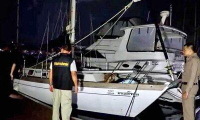 Dead Canadian found on yacht at Ocean Marina Yacht Club   The Thaiger