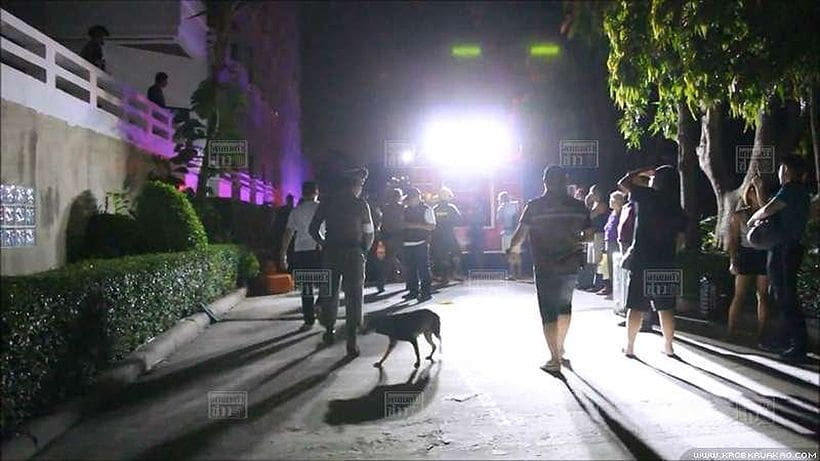 Pattaya hotel ablaze, guests head for the exits | The Thaiger