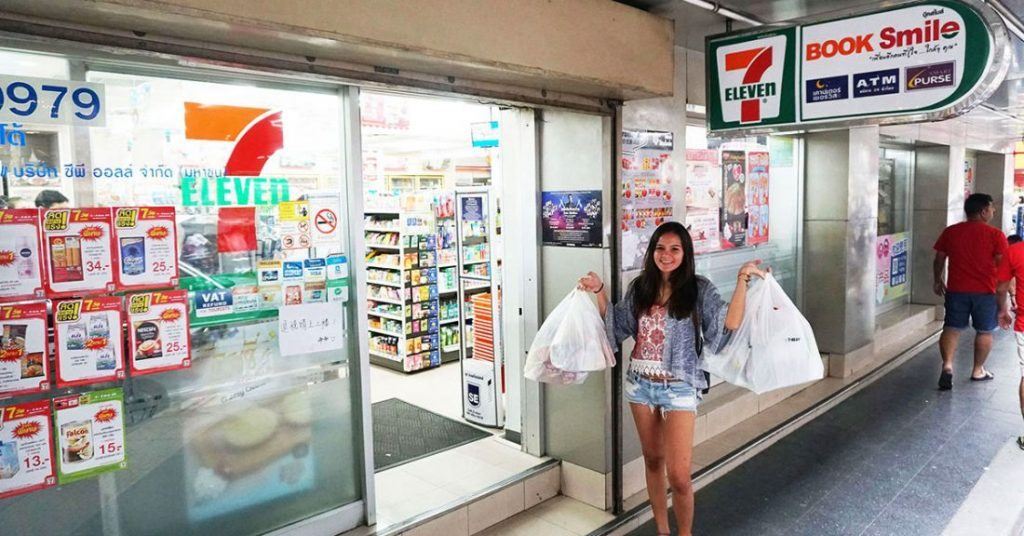 7-Eleven stores to reduce the use of plastic bags | News by The Thaiger