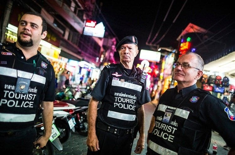 Tourist Police service centres being set up on Phuket beaches | The Thaiger