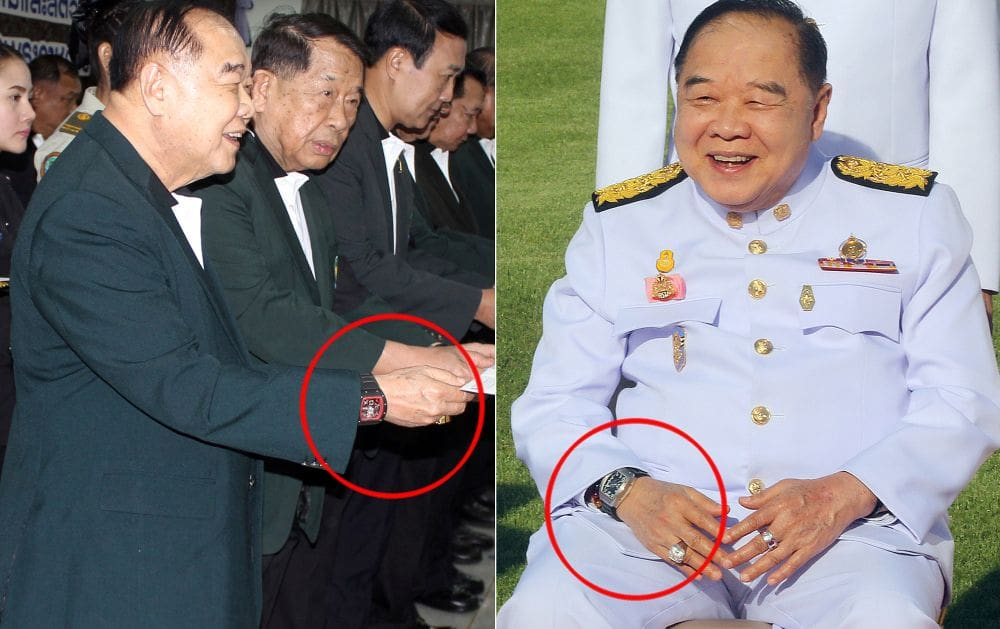 Prawit's luxury watch probe, delayed outcome by the NACC | The Thaiger