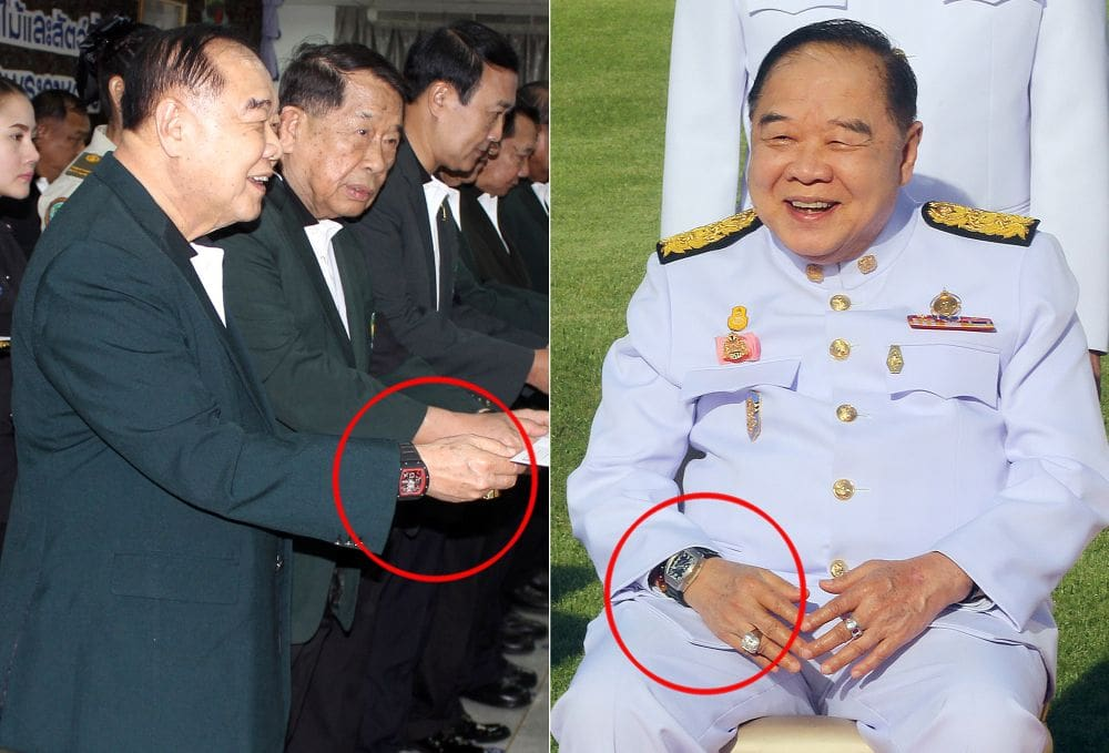 Luxury watch probe to be wrapped up this month | News by Thaiger
