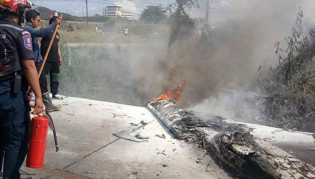 CAAT probe crash of light-aircraft that killed South African pilot | The Thaiger
