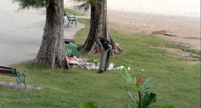 Three bombs found on a Songkhla beach after blasts damage famous mermaid statue | News by Thaiger