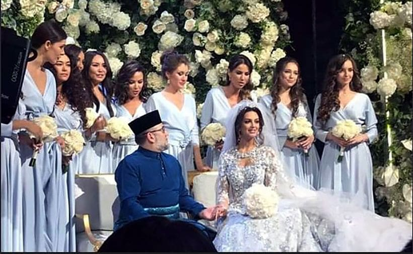 Russian model becomes Queen of Malaysia after marrying Muslim king | News by The Thaiger