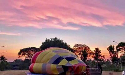 Hot Air Balloon 'crash' story was a lot of hot air | The Thaiger