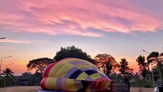 Hot Air Balloon 'crash' story was a lot of hot air   The Thaiger