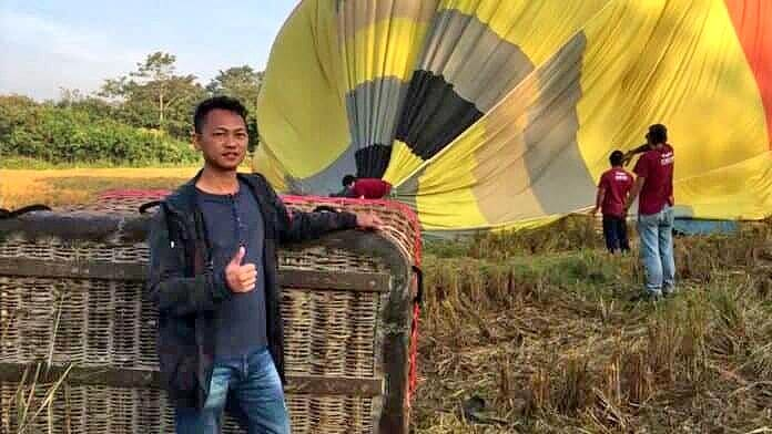 Hot Air Balloon 'crash' story was a lot of hot air | News by The Thaiger