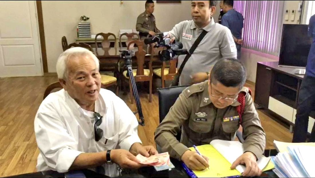 72 year old fined 500 baht for blocking ambulance | The Thaiger