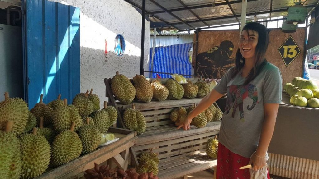 Krabi Police tracking down durian thief | News by The Thaiger