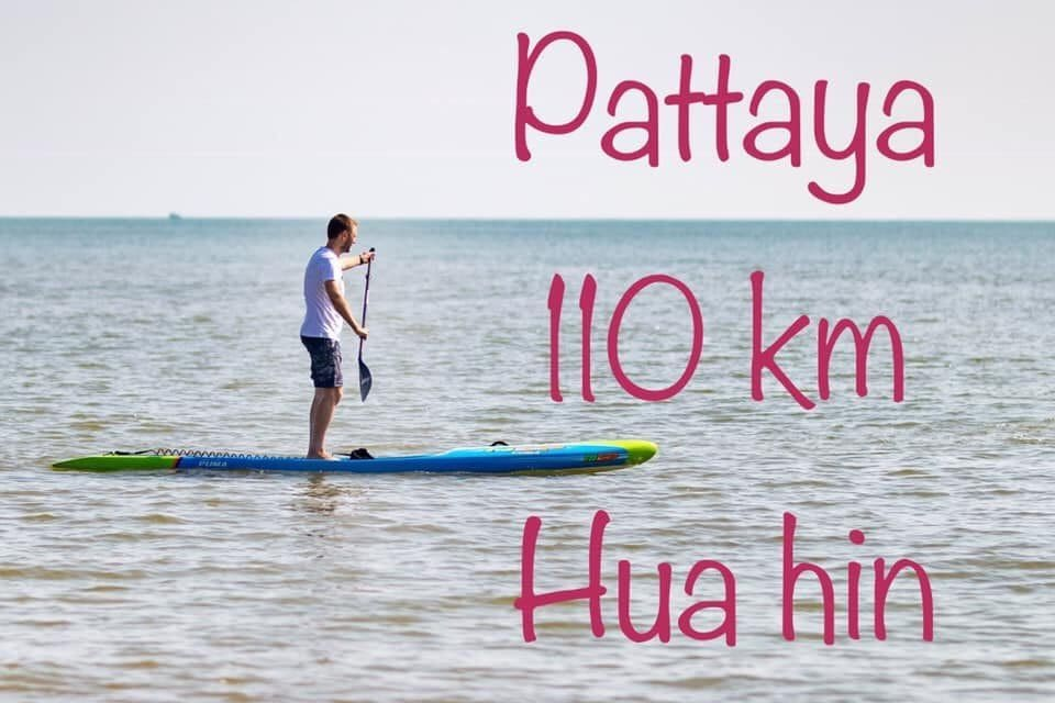 Hua Hin expat postpones attempt to cross the Gulf. On a paddle board! | News by The Thaiger