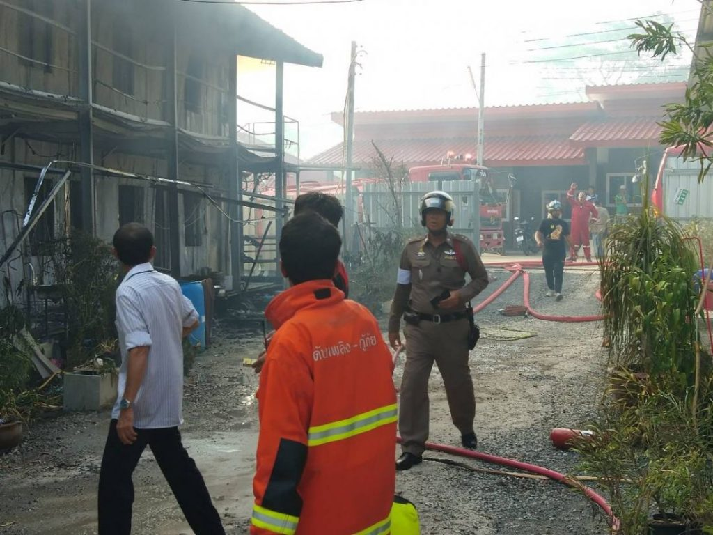 Fire destroys workers' camp in Kathu   News by Thaiger