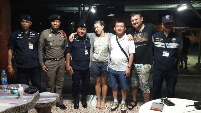 Fyra omkomna hem fran thailand i dag