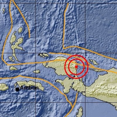 Magnitude 5.8 earthquake rattles Indonesia's West Papua