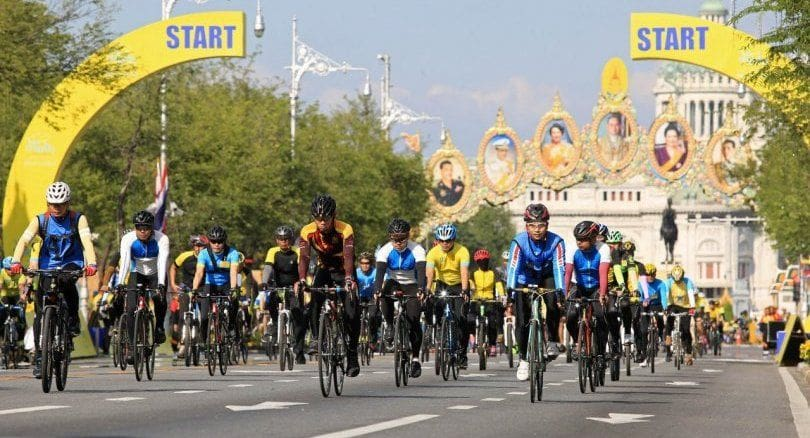 More than 6,000 cyclists expected in Phuket's Bike Un Ai Rak event today | News by Thaiger